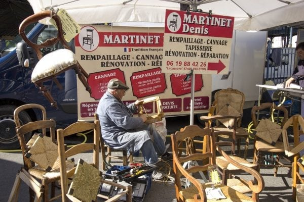 You could see anything on market day